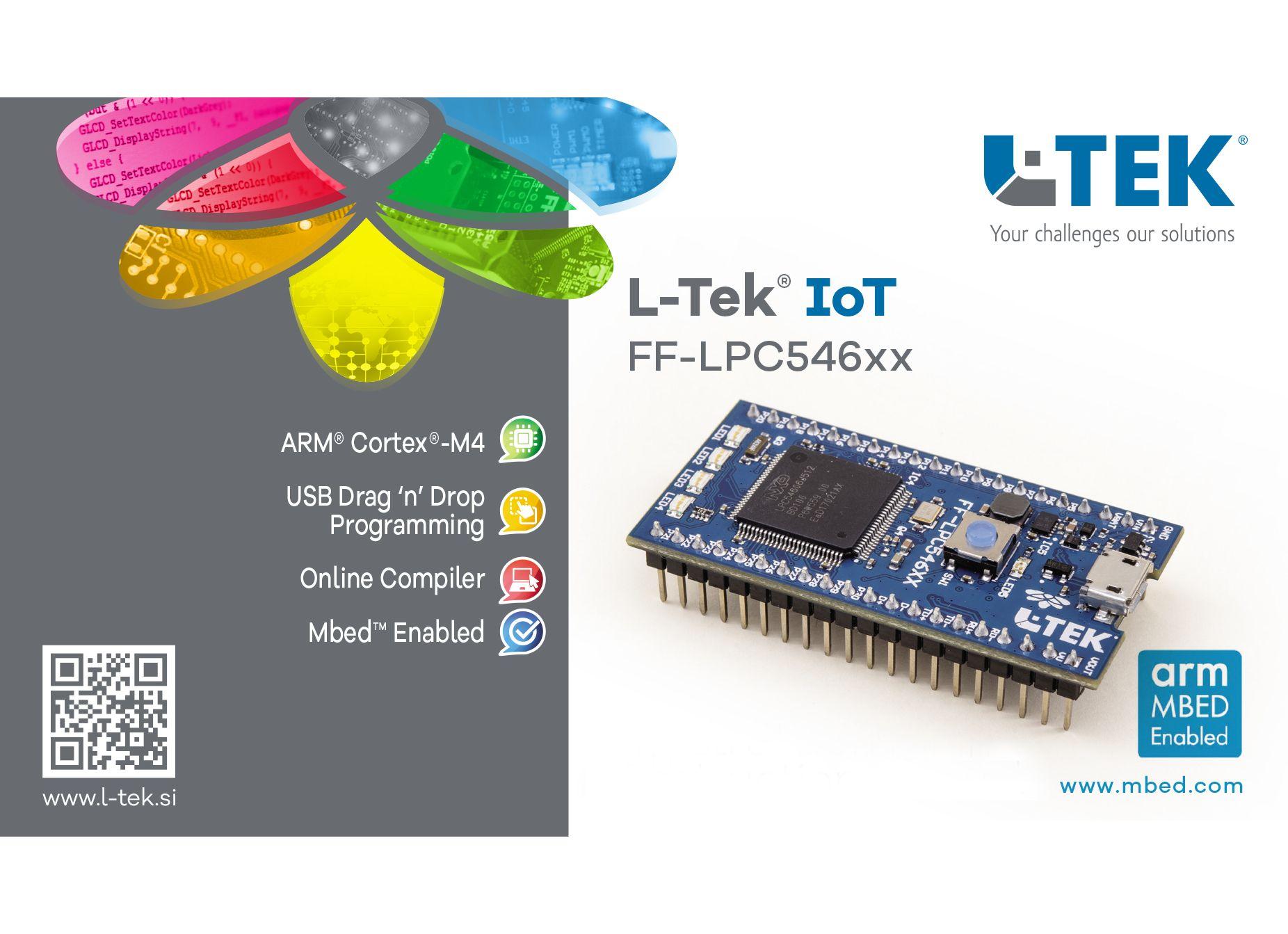 L-Tek A4 Inlay FF LPC546XX